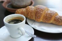 Image of Coffee and Croissant