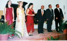 From left: Caroline Calleja, Corinne Talibart, Sarah Spiteri, Mro Ronnie Debattista, Godfrey Mifsud, Egbert Junghanns