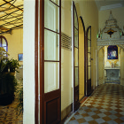 First Floor Corridor with private chapel at one end