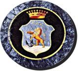 Das Wappen der Familie Messina